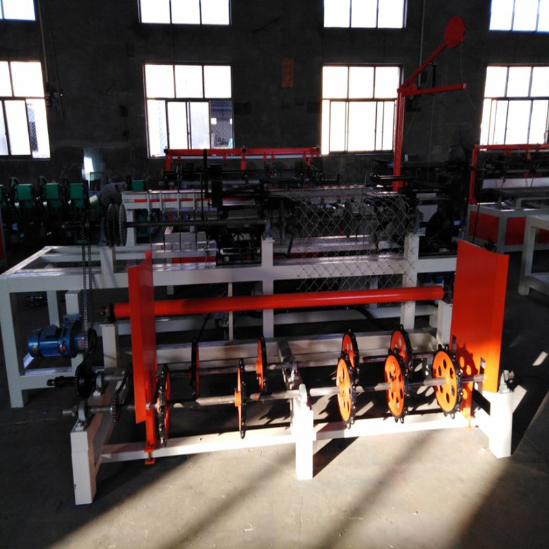 Single Wire Automatic Chain Link Fence Machine