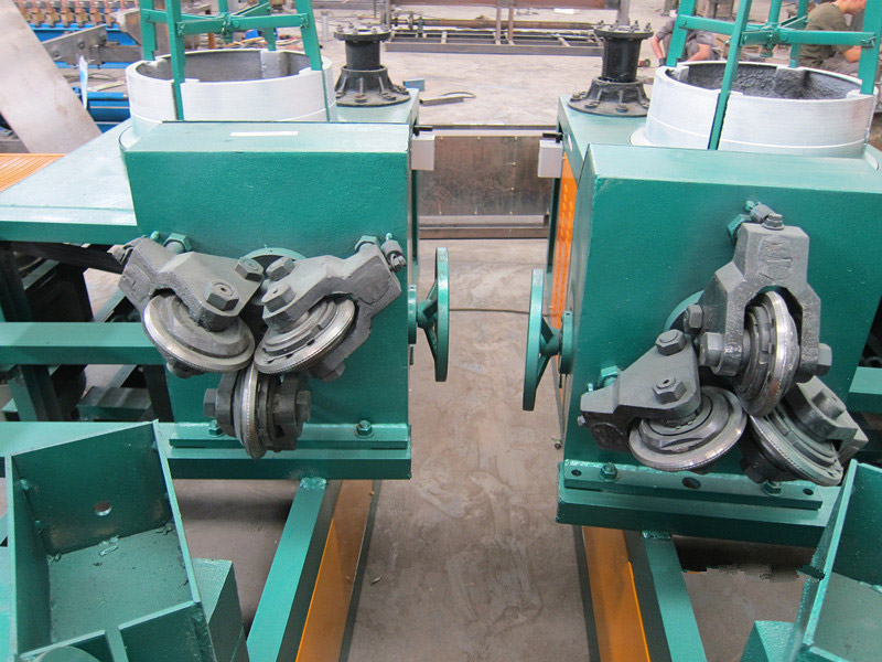 Four-block Drawing Wire Machine